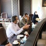 برگزاری جلسه بررسی شرایط احداث مجتمع تفریحی رفاهی در کوی صنعتی
