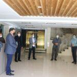 بازدید از هتل اطلس در راستای تحویل پروژه به شهرداری